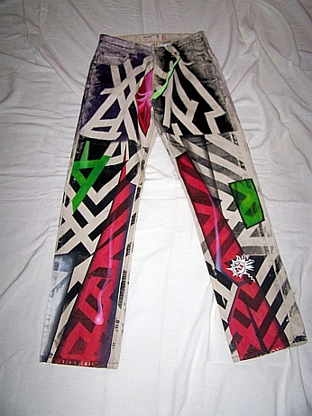 Handpainted Jeans 2007