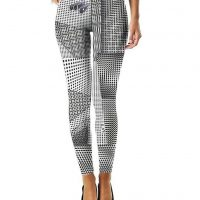 dot perspectives leggings